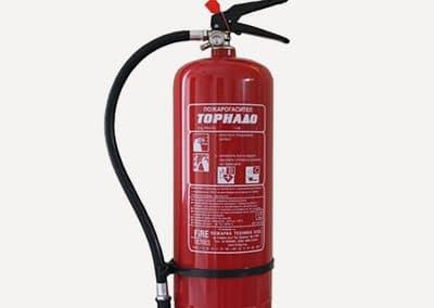 Пожарогасител прахов 6 кг АВС
