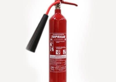 Пожарогасител с СО₂ 2 кг