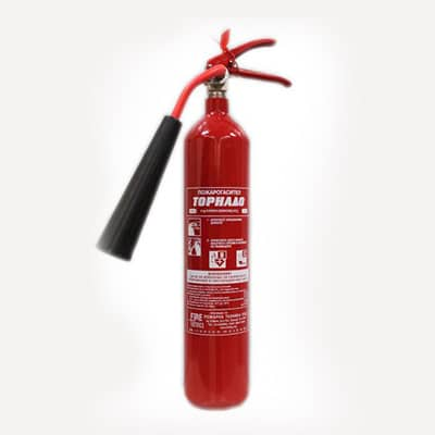 Пожарогасител с СО2