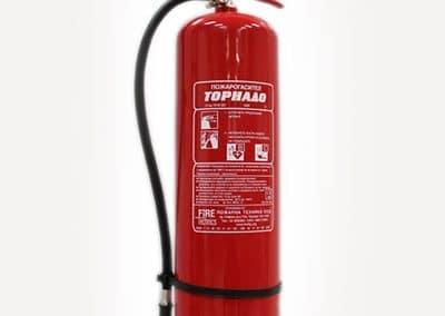 Пожарогасител прахов 12 кг АВС
