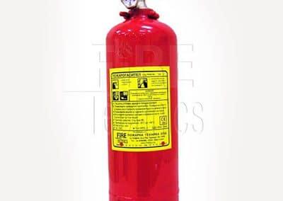 Пожарогасител прахов 2 кг АВС