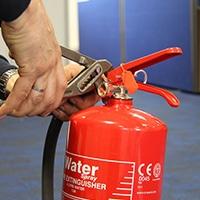 Сервизно обслужване на пожарогасители